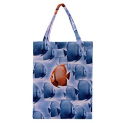 Swim Fish Classic Tote Bag by Mariart