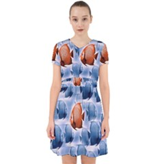 Swim Fish Adorable In Chiffon Dress