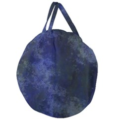 Marbled Structure 4b Giant Round Zipper Tote