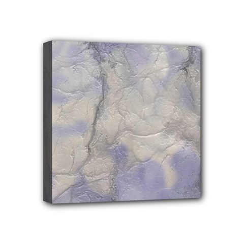 Marbled Structure 5b Mini Canvas 4  X 4  by MoreColorsinLife