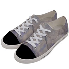 Marbled Structure 5b Women s Low Top Canvas Sneakers by MoreColorsinLife