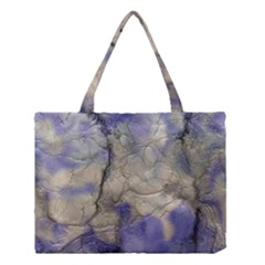 Marbled Structure 5b2 Medium Tote Bag by MoreColorsinLife