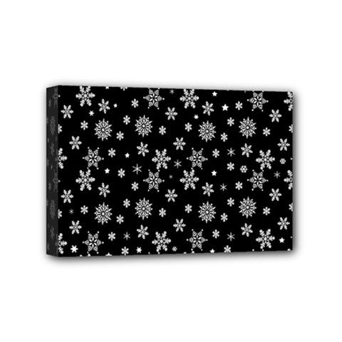 Xmas Pattern Mini Canvas 6  X 4