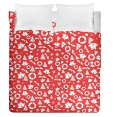 Xmas Pattern Duvet Cover Double Side (queen Size)