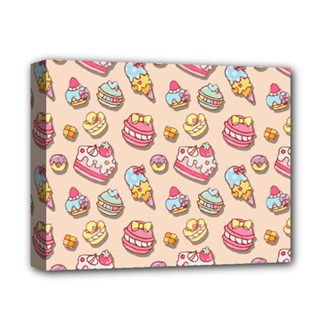 Sweet Pattern Deluxe Canvas 14  X 11  by Valentinaart