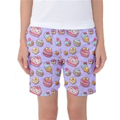 Sweet Pattern Women s Basketball Shorts