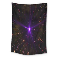 Animation Plasma Ball Going Hot Explode Bigbang Supernova Stars Shining Light Space Universe Zooming Large Tapestry by Mariart