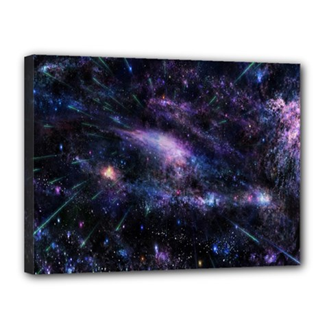 Animation Plasma Ball Going Hot Explode Bigbang Supernova Stars Shining Light Space Universe Zooming Canvas 16  X 12