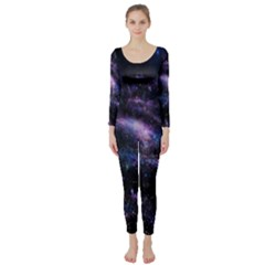 Animation Plasma Ball Going Hot Explode Bigbang Supernova Stars Shining Light Space Universe Zooming Long Sleeve Catsuit by Mariart