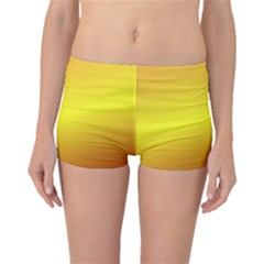 Gradient Orange Heat Boyleg Bikini Bottoms