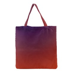 Course Colorful Pattern Abstract Grocery Tote Bag