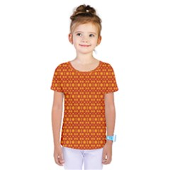 Pattern Creative Background Kids  One Piece Tee