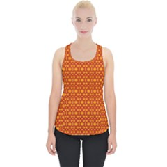 Pattern Creative Background Piece Up Tank Top