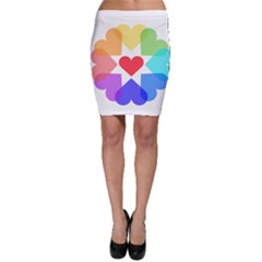 Heart Love Romance Romantic Bodycon Skirt