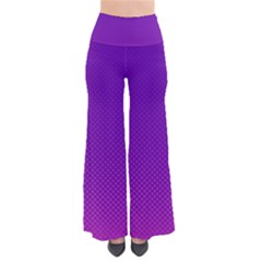 Halftone Background Pattern Purple Pants