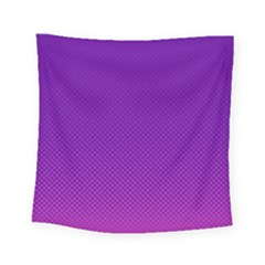 Halftone Background Pattern Purple Square Tapestry (small) by Nexatart