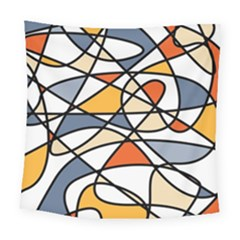 Abstract Background Abstract Square Tapestry (large)