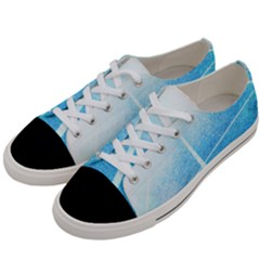 Court Sport Blue Red White Women s Low Top Canvas Sneakers by Nexatart