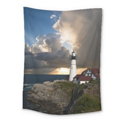 Lighthouse Beacon Light House Medium Tapestry