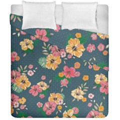 Aloha Hawaii Flower Floral Sexy Duvet Cover Double Side (california King Size) by Mariart