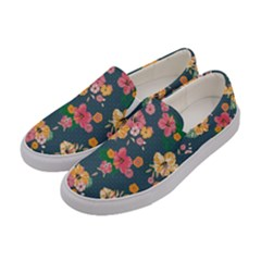 Aloha Hawaii Flower Floral Sexy Women s Canvas Slip Ons by Mariart