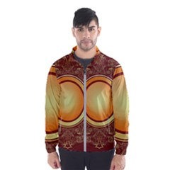 Badge Gilding Sun Red Oriental Wind Breaker (men) by Nexatart