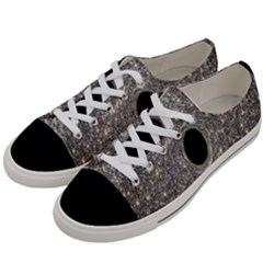 Black Hole Blue Space Galaxy Star Light Women s Low Top Canvas Sneakers by Mariart