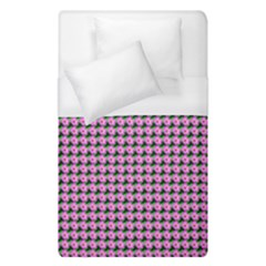 Pattern Grid Background Duvet Cover (single Size) by Nexatart