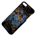 Multi Color Tile Twirl Octagon Apple iPhone 5 Hardshell Case with Stand View4