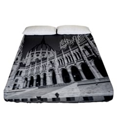 Architecture Parliament Landmark Fitted Sheet (california King Size)