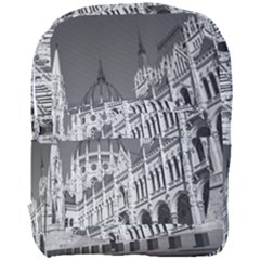 Architecture Parliament Landmark Full Print Backpack
