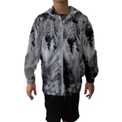 Pineapple Market Fruit Food Fresh Hooded Wind Breaker (kids)