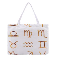 Signs Of The Zodiac Zodiac Aries Medium Tote Bag
