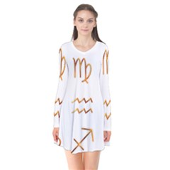 Signs Of The Zodiac Zodiac Aries Flare Dress