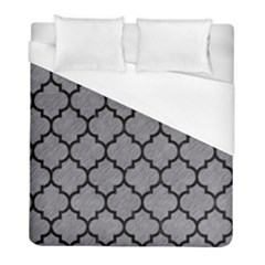 Tile1 Black Marble & Gray Colored Pencil (r) Duvet Cover (full/ Double Size) by trendistuff