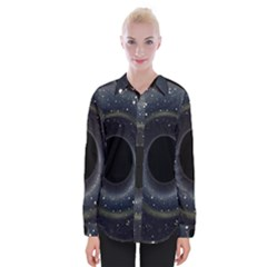 Brightest Cluster Galaxies And Supermassive Black Holes Womens Long Sleeve Shirt by Mariart