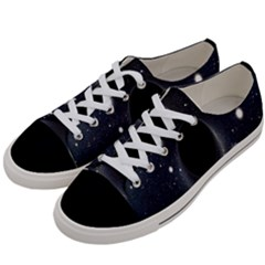 Brightest Cluster Galaxies And Supermassive Black Holes Women s Low Top Canvas Sneakers by Mariart