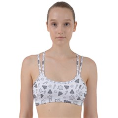 Ginger Cookies Christmas Pattern Line Them Up Sports Bra