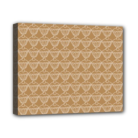 Cake Brown Sweet Canvas 10  X 8  by Mariart