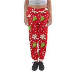 Ginger Cookies Christmas Pattern Women s Jogger Sweatpants
