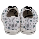 Ginger cookies Christmas pattern Men s Low Top Canvas Sneakers View4