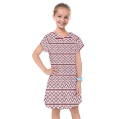 Clipart Embroidery Star Red Line Black Kids  Drop Waist Dress by Mariart