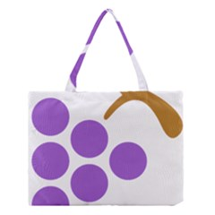 Fruit Grape Purple Medium Tote Bag by Mariart