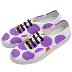 Fruit Grape Purple Women s Classic Low Top Sneakers by Mariart