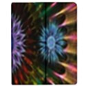 Flower Stigma Colorful Rainbow Animation Gold Space Apple iPad 3/4 Flip Case View1
