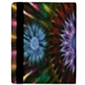 Flower Stigma Colorful Rainbow Animation Gold Space Apple iPad 3/4 Flip Case View3