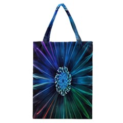 Flower Stigma Colorful Rainbow Animation Space Classic Tote Bag by Mariart