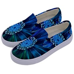 Flower Stigma Colorful Rainbow Animation Space Kids  Canvas Slip Ons by Mariart