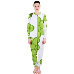 Fruit Green Grape Onepiece Jumpsuit (ladies)