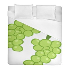Fruit Green Grape Duvet Cover (full/ Double Size)